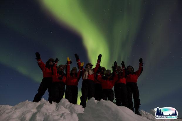 séjour aurore boreale