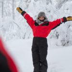 séjour en Laponie janvier