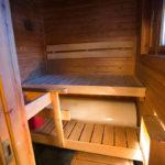 Le sauna de votre chalet