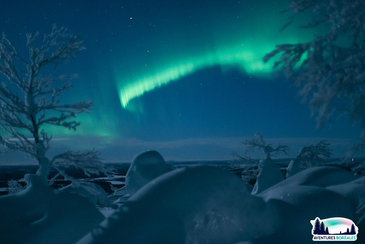 Aurore en Laponie