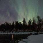 Aurores boréales en Suède