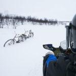 Balade en motoneige en Laponie Finlandaise