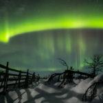 Finlande, aurores boréales