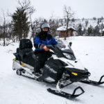 Motoneige en Laponie