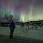 Observer des aurores boréales en Laponie