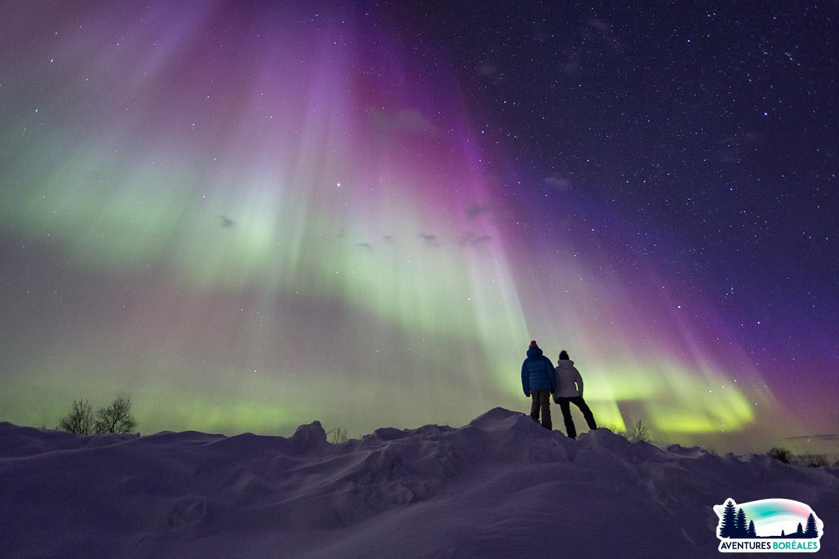 Où voir des aurores boreales en Norvège