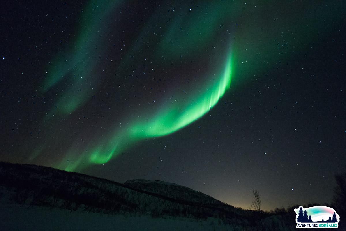 Séjour aurore en Laponie