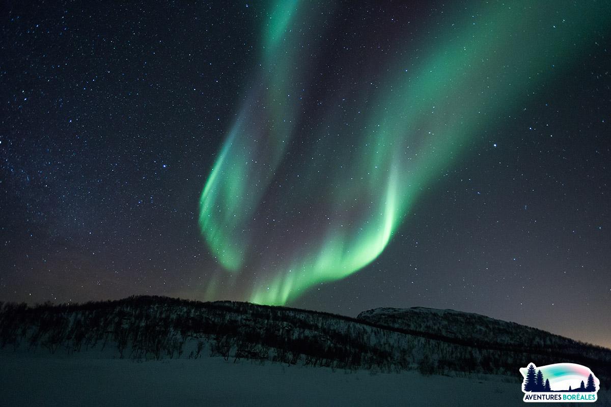 Séjour aurore boréale en Laponie