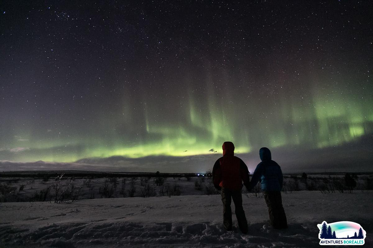 Séjour chasse aux aurores en Finlande