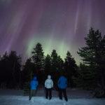Séjour chasse aux aurores boréales en Laponie