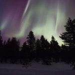 Voir des aurores boréales en Suède