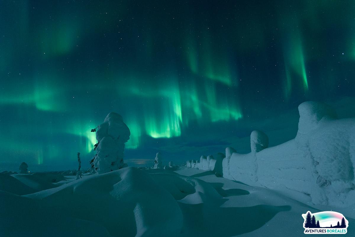 Voyage aurore boréale en Finlande