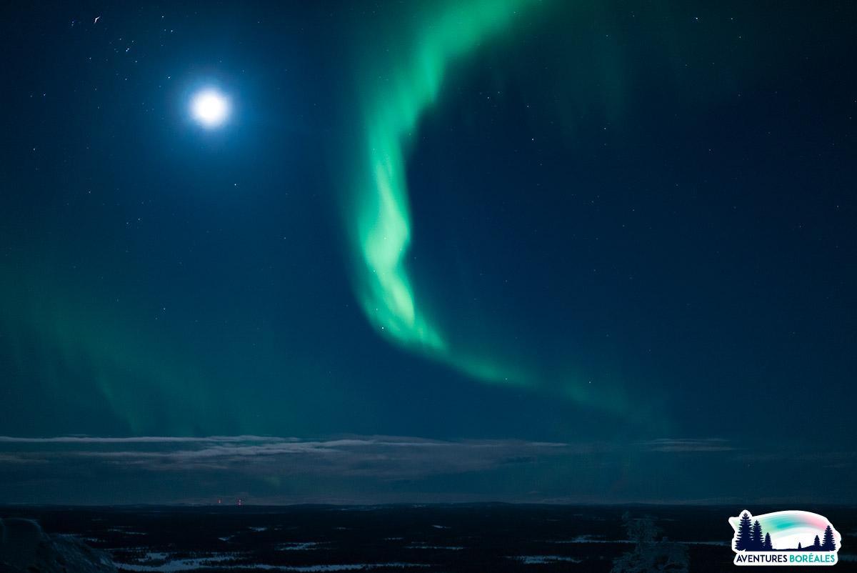 Voyage aurore boréale en Laponie