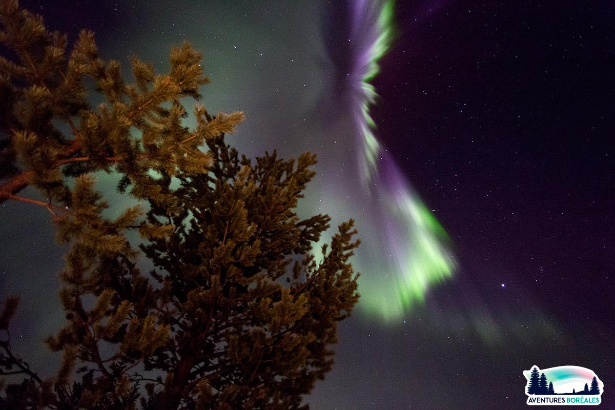 Voyage aurores en Laponie