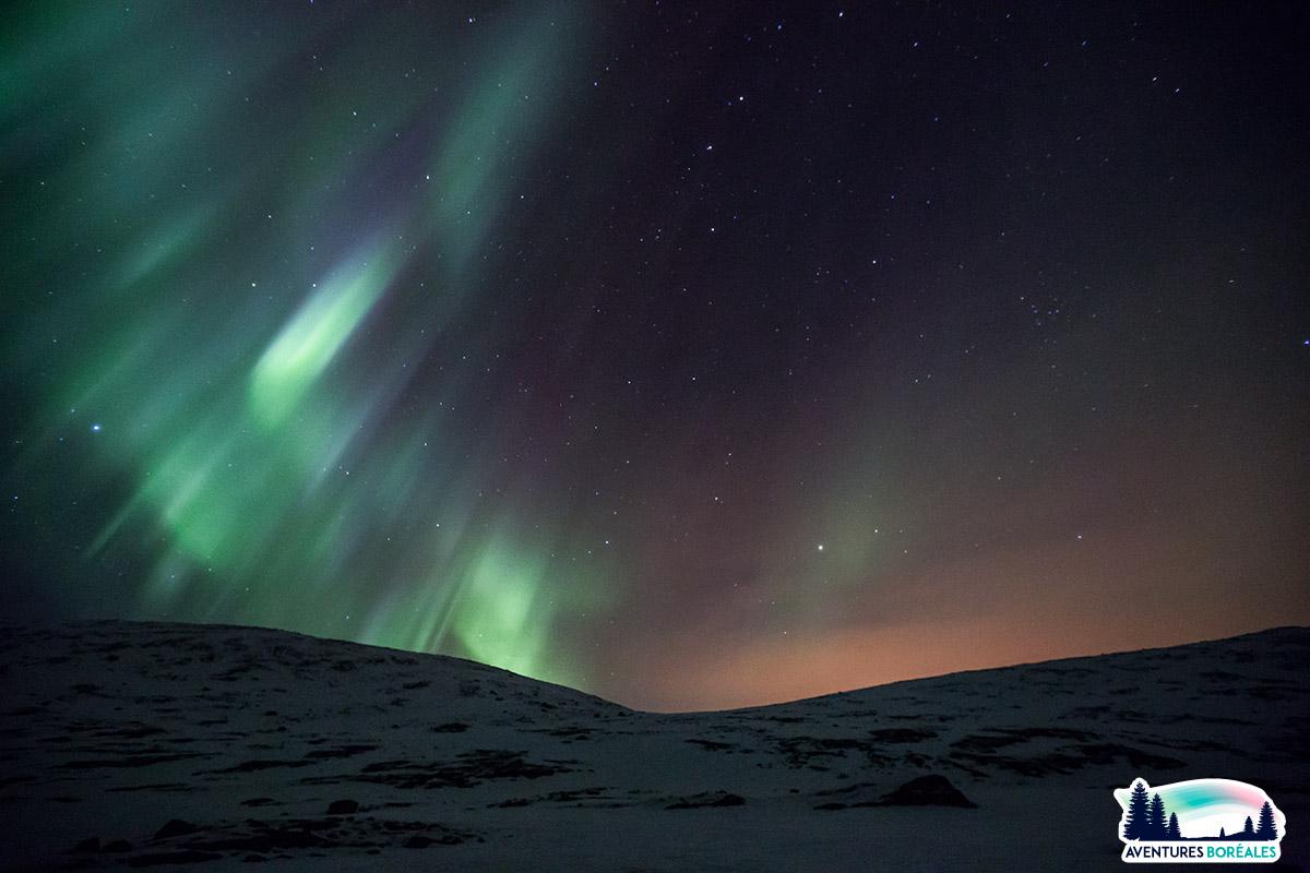 Voyage aurores boreales en Finlande