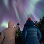 Séjour aurores boreales en Finlande