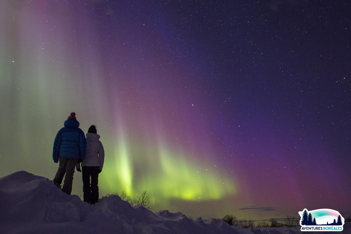 Voyage chasse aux aurores boréales