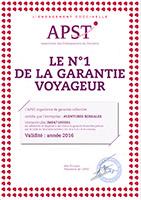 Certificat APST